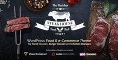 The Butcher - WordPress Food & e-Commerce Theme for Steakhouse Meat Restaurants