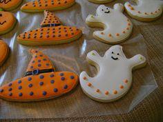 Sweet Treats & Such: Halloween Cookies
