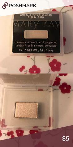 NWOT Mary Kay Mineral Eyeshadow Crystalline NWOT Mary Kay Mineral Eyeshadow Crystalline Mary Kay Makeup Eyeshadow