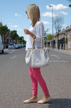 LookBook: Pink and espadrilles » omelocotton