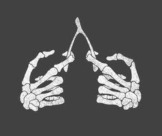 Bones breakin' Bones http://www.creativeboysclub.com/tags/we-love-skulls