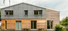 Huber&Sohn - stylisches, modernes Holzhaus
