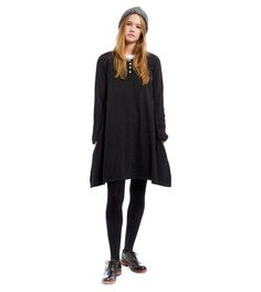 Cabbages and Roses Cashmere Grandad Dress