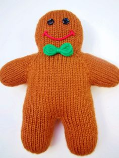 knitted gingerbread
