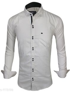 Checkout this latest Shirts Product Name: *Trendy Men's Cotton Shirt* Fabric: Cotton Sleeve Length: Long Sleeves Pattern: Solid Multipack: 1 Sizes: S, M, L, XL, XXL Country of Origin: India Easy Returns Available In Case Of Any Issue   Catalog Rating: ★4 (476)  Catalog Name: Elegant Mens Cotton Shirts Vol 10 CatalogID_137238 C70-SC1206 Code: 084-1113199-2121
