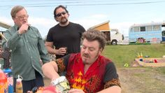 Trailer Park Boys Ricky, Julian and Bubbles, New at swearnet.com: Ricky, what the fuck are sushi bobs? June 9, 2015 in New at swearnet.com, Trailer Park Boys