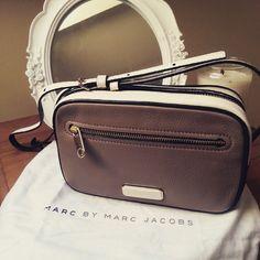"""Love my new #marcbymarcjacobs @marcjacobsintl #handbag #bags #fblogger #style #presents #bags"""