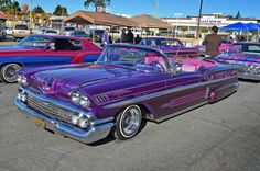 Chicano style painted cars