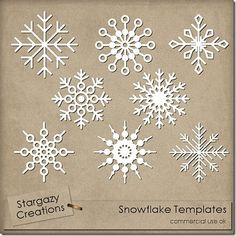 1000 images about xmas templates on pinterest snowflake