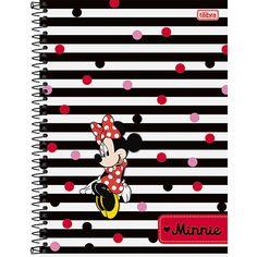 Caderno Universitário Minnie 10 Matérias 200 Folhas Listras - Tilibra Johnny Lozada, Cheese Party, Office Stationery, Iphone Wallpaper, Mickey Mouse, Daisy, Creations, Snoopy, Behance