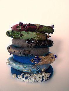 Felted bracelets | Flickr - Photo Sharing!