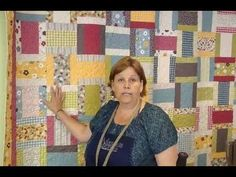 Jenny shows us how to make an easy yet beautiful quilt using just one layer cake and jelly roll.