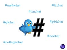 50 Important Education Twitter Hashtags--With Meeting Times!