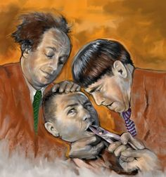 The Three Stooges by McDermott