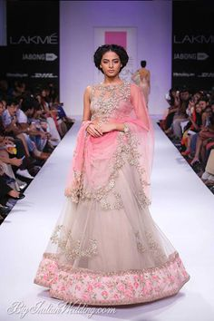 Anushree Reddy Lakme Fashion Week 2014 | Lehengas & Sarees | Bigindianwedding