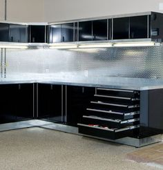 Custom Garage Cabinets We offer a complete line of garage storage solutions to organize your life. From heavy-duty garage cabinets to sleek wall organization, ...