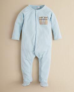 Burberry Infant Boys' Elvis Footie - Sizes 1-12 Months | Bloomingdale's
