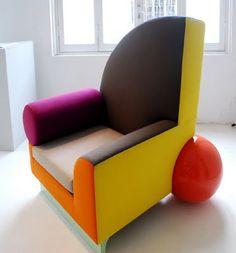 design history: Ettore Sottsass - Memphis.