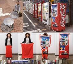 The Ultimate Urban Camouflage Collection: 10 Strange Examples from Coke Suits to Camo Cars