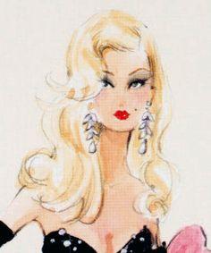 Barbie Calendar Mini