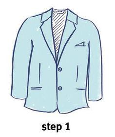 Even a seemingly awkward piece of clothing, such as a blazer, can be packed efficiently—so it takes up little space and is less likely to wrinkle—by following these steps.