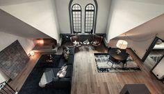 Priestrannosť, elegancia a uhladenosť sa spolu miesia v apartmáne zo Štokholmu