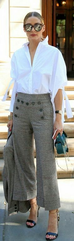 Olivia Palermo. Me encantan los pantalones