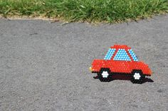 The #aquabeads car loves going on an adventure!