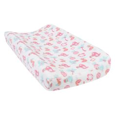 Trend Lab Plush Changing Pad Cover, White Oth