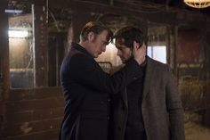 Mads Mikkelsen / Hannibal and Hugh Dancy / Will Graham (high quality)