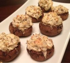 In the Kitchen with Holly: Artichoke Stuffed Mushrooms