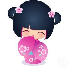 Momiji Doll, Kokeshi Dolls, Matryoshka Doll, Japanese Party, Photo Sculpture, Asian Doll, Digi Stamps, Cute Images, Japanese Culture