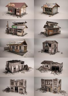SBS presidential election by Jiwoo Park Environment Concept Art, Environment Design, 3d Design, Game Design, Building Concept, Modelos 3d, Building A Shed, Miniature Houses, Environmental Art