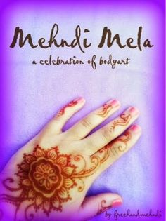 Mehndi Mela is a celebration of body art. The designs start quite simple and grow into elaborate designs for the most special of occasions. Im so