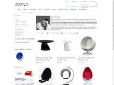 Eero Aarnio - Designers Mid Century Modern Designer Furniture Replicas and Reproductions