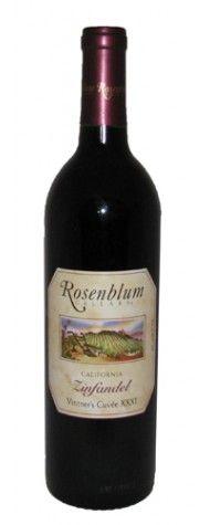 Rosenblum Zinfandel--a new favorite