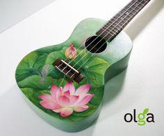 Lotus ukulele