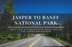 Canada is blessed to have some of the world's iconic drives and heading to the Canadian Rockies, the drive from Jasper to Banff National Park is incredible.
