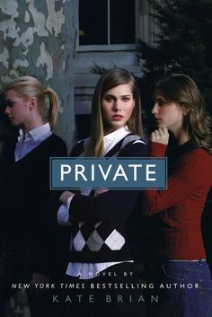 Private series by Kate Brian, first book: 'Private': When fifteen-year-old Reed Brennan wins a scholarship to Easton Academy, she quickly discovers that the Billings Girls are the most beautiful, intelligent, and powerful group on campus, so Reed tries to become a member. (14 books total, plus 2 extras)