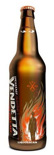 Speakeasy Vendetta IPA speciality beers for the speak easy theme perhaps