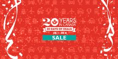 We're celebrating our 20th anniversary with #20DaysofDeals AND a #contest! Join the fun! --> http://travl.to/OcA12