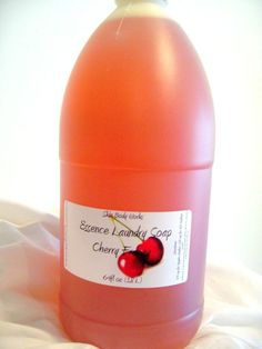 Cherry Frenzy Liquid Laundry Soap 64oz For up by MichelesBodyWorks, $15.50