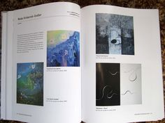 My published artwork in International Contemporary Artists vol X. ICA Publishing