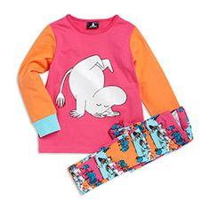 Pyjama Vaaleanpunainen, koko 110/116 cm.