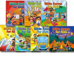 Bible Songs for Kids CDs - Scripture songs!