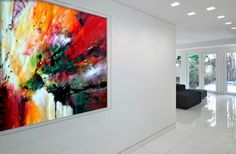 #Painting by Dan Bunea, living #abstract #paintings, www.danbunea.ro