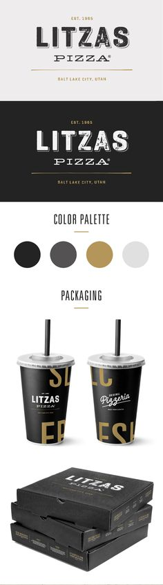 Litzas Pizza Rebrand More