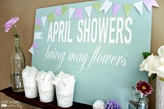 Fun Spring Sign idea