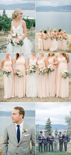Rustic + Romantic British Columbia Summer Wedding - Style Me Pretty
