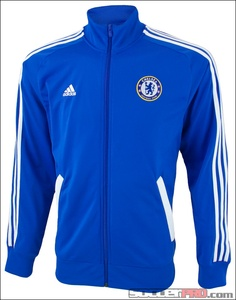 Pretty neat Chelsea training jacket from adidas...might have to pick this one up...$69.99